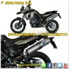 BMW F 800/650 GS's Exhaust Carbon/Titanium by Termignoni
