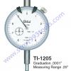 TECLOCK เทคลอค รุ่น TI-1205 เกจตั้งศูนย์ ไดอัลเกจ ระบบนิ้ว DIAL GAUGE