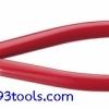 KEIBA คีมตัดพลาสติก 7 นิ้ว ด้ามบาง รุ่น PL-757 Plastic Cutting Pliers (Blade Shape: Flat/45 Degree Type)