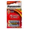 ถ่านอัลคาไลน์ พานาโซนิค Panasonic LR6T/2B AA (แพ็ค 2 ก้อน)