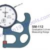 TECLOCK เทคลอค รุ่น SM-112 เกจวัดหนาบาง Dial Thickness Gauge