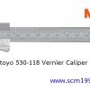MITUTOYO มิตูโตโย 530-118 เวอเนียร์คาลิปเปอร์ 8 นิ้ว 0.02 มม. (1/1000 นิ้ว) ญี่ปุ่น คุณภาพดี vernier caliper