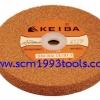 "KEIBA เคบ้า หินเจียรนัยสีส้ม ขนาด 8"" x 1"" เบอร์ 60 GRINDING WHEEL"