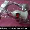 ขั้วหลอดไฟ งอได้ 7.5นิ้ว พร้อม สวิทช์ ( ของไทยผลิต ) 450.- ส่งฟรี EMS