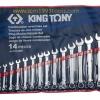KINGTONY คิงโทนี่ 1214MR ประแจแหวนข้างปากตาย 14 ตัวชุด 10-32 มม. Combination Wrench Set