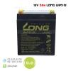 แบตเตอรี่แห้ง 12V 5Ah WP5-12 LONG Battery Lead Acid SLA VRLA AGM ไฟฉุกเฉิน เครื่องสำรองไฟ UPS