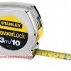 Stanley สแตนเล่ย์ ตลับเมตร รุ่น PowerLock ชุบโครเมี่ยม 3 เมตร (10 ฟุต) No. 33-231 Tape Rule