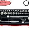 KOKEN-4279AM บล็อกชุด 36 ชิ้น (มิล+นิ้ว) ในกล่องเหล็ก ลูกบ๊อก 12p SOCKET SET