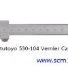 MITUTOYO มิตูโตโย 530-104 เวอเนียร์คาลิปเปอร์ 6 นิ้ว 0.05 มม. (1/128 นิ้ว) ญี่ปุ่น คุณภาพดี vernier caliper