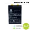แบตเตอรี่แห้ง 6V 4.5Ah SUNNY SN4.5-6 Battery Lead Acid SLA VRLA AGM