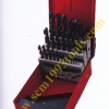 OSBORN รุ่น 25M ดอกสว่านเจาะเหล็กไฮสปีดก้านตรง ชนิดมิล 25 ตัวชุด HSS Drill Bit Set