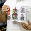 SD6093 Mini Street ของเล่นตัวต่อโรงรับจำนำสไตล์จีน