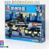 B2000 ตัวต่อเลโก้จีน Police ยานเกราะกันกระสุน และรถตำรวจหน่วยจู่โจม