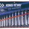KINGTONY คิงโทนี่ 1712MR ประแจแหวน 12 ตัวชุด 6-32 มม. 75 degree Offset Double Box End Wrench Set