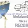 RECORDS ปากกาจับเหล็ก ตั้งโต๊ะ METAL WORKING VICES