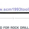 ก้านเจาะหิน เจาะคอนกรีต ก้านหกเหลี่ยม 22 mm. สำหรับ สกัดหิน TOKU รุ่น TJ-15, TJ-20, TJ-26 TAPER ROD