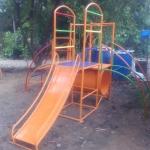 รหัส PG ผลงานติดตั้ง (เทศบาลตำบลดอนขมิ้น อ.ท่ามะกา จ.กาญจนบุรี) เครื่องเล่นสนามกลางแจ้งสำหรับเด็ก