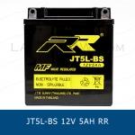 แบตเตอรี่ มอเตอร์ไซต์ RR JT5L-BS CB5L ( GM5 ) 12V 5Ah YUASA Motorcycle Battery