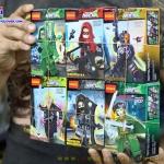 0232-37 มินิฟิกเกอร์ฝ่ายตัวร้ายของ DC Comics เซ็ต 6 กล่อง