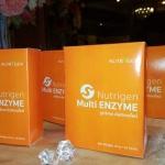 Nutrigen Orange ( Multi Enzyme ) เอนไซม์ เข้มข้นกว่าทั่วไป 3 - 4 เท่า ช่วยดูแลสุขภาพดีกว่า Enzyme ทั่วไป