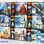 901-909 Star Wars มินิฟิกเกอร์ สตรอม ทรูปเปอร์และยานรบ เซ็ต 9 กล่อง