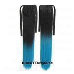 Ombre straight Ribbon แบบตรง สี 1BTTurquoise
