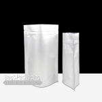 ถุงซิปล็อคอลูมิเนียมฟอยล์ ก้นตั้ง ทึบ 2 ด้าน ขนาด 9 x 13 cm