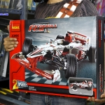 3366 ตัวต่อ Technic รถแข่ง F1 Grand Prix Racer สีแดงขาว