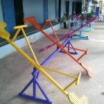 รหัส PG ผลงานติดตั้ง (โรงเรียนขันติธรรม-บางบัวทอง จ.นนทบุรี) เครื่องเล่นสนามกลางแจ้งสำหรับเด็ก
