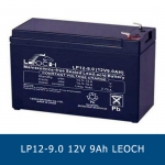 แบตเตอรี่แห้ง 12V 9Ah LEOCH DJW12-9 LP12-9.0 Battery Lead Acid SLA VRLA AGM
