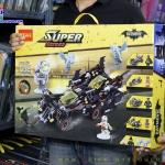 Super Hero Batman รถแบทแมน The Ultimate Batmobile แยกเป็นรถ 4 คัน