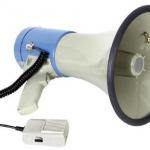 โทรโข่ง ขนาด 25 วัตต์ รุ่น MP25FMU ( เสียบ USB และ SD Card ได้ )
