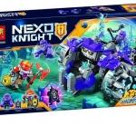 10595 อัศวิน Nexo Knights สามพี่น้องปีศาจก้อนหิน The Three Brothers