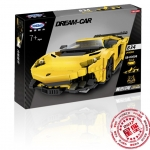 XB-03008 ของเล่นตัวต่อ Dream Car รถสปอร์ต Lamborghini Aventador