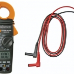 DIGITAL CLAMP MULTIMETER WITH DATA-HOLD FUNCTION AND BACKLIGHT