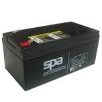 แบตเตอรี่แห้ง 12V 3.3Ah SL12-3.3 SPA Battery Lead Acid SLA VRLA AGM