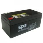 แบตเตอรี่แห้ง 12V 3.3Ah SL12-3.3 SPA Battery Lead Acid SLA VRLA AGM