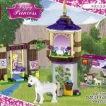 37000 Happy Princess เจ้าหญิงราพันเซลกับหอคอยสูงและม้าขาว