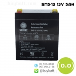 แบตเตอรี่แห้ง 12V 5Ah SUNNY SN5-12 Battery Lead Acid SLA VRLA AGM