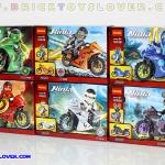 10017-22 มินิฟิกเกอร์ Ninja Tonado Motercycle เซ็ต 6 กล่อง