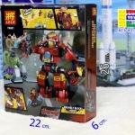 79081 Hulk Buster Iron Man ฮัลคและไอรอนแมน