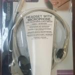 ชุดหูฟัง Velleman รุ่น HSMT1 (ไมค์ + หูฟังข้างเดียว)