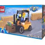 1103 ตัวต่อ City รถยกของ ฟอร์คลิฟท์ Forklift