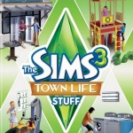 The Sims 3 Town Life Stuff (1 DVD)