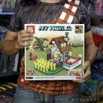 SY933 Mine Craft ตัวต่อเลโก้จีน My World บ้านสวนผักต่อได้ 2 แบบ 2 in 1