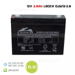 แบตเตอรี่แห้ง 12V 2.8Ah DJW12-2.8 LEOCH Battery Lead Acid SLA VRLA AGM
