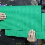 8804 แผ่น Plate สี่เหลี่ยมผืนผ้าขนาด 45x22.5 Cm. แผ่นบาง ฐานเรียบ