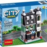 1107 City ตัวต่อ Mini Street View ร้านขายของ Store ในเมืองหลวง