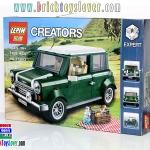 ของเล่นตัวต่อ Creator รถมินิ Mini Cooper สีเขียว