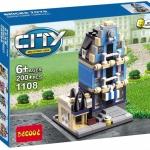 1108 City ตัวต่อ Mini Street View ร้านขายของ Store ในเมืองหลวง